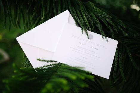 Philip & Giselle's Wedding Invitation
